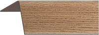 Уголок отделочный Rico Moulding 111 Бук Темный с тиснением (20x20x2700) -