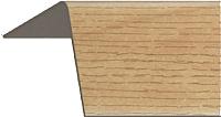 Уголок отделочный Rico Moulding 118 Орех Грецкий с тиснением (20x20x2700) -
