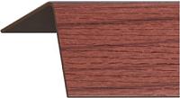 Уголок отделочный Rico Moulding 140 Вишня Виньола с тиснением (20x20x2700) -