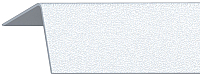Уголок отделочный Rico Moulding 110 Белый с тиснением (30x30x2700) -