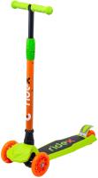 Самокат Ridex Chip (оранжевый/зеленый) -
