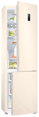 Холодильник с морозильником Samsung RB37A5290EL/WT