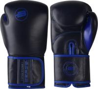 Боксерские перчатки BoyBo Rage (12oz, черный/синий) -