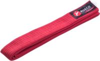 Пояс для кимоно RuscoSport 240см (красный) -