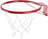 Баскетбольное кольцо No Brand КБ31 №3 с сеткой (295мм) -