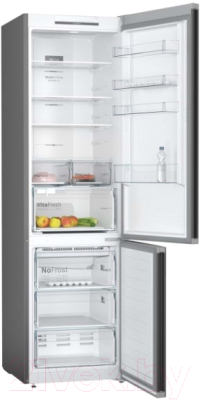 Холодильник с морозильником Bosch KGN39UC27R