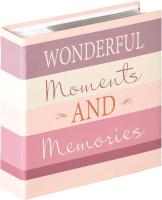 Фотоальбом Walther Moments / ME337W (розовый) -