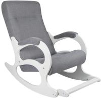 Кресло-качалка Calviano Бастион 2 (Memory 15/белый) -