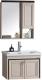 Комплект мебели для ванной RIVER Victoria 605 BG (бежевый) -
