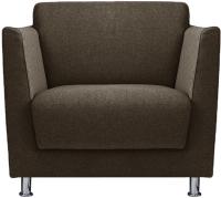 Кресло мягкое Brioli Куно (J5/коричневый) -