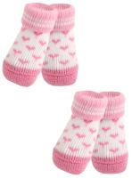 Носочки для животных Puppia Angel Heart / PAMD-SO073-PK-M (розовые сердечки) -