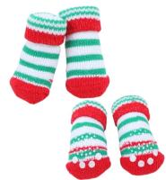 Носочки для животных Puppia Crinch / PAOC-SO1270-RD-M (красный) -