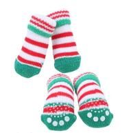Носочки для животных Puppia Crinch / PAOC-SO1270-GR-M (зеленый) -