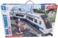 Железная дорога игрушечная Zhe Gao City Скоростной пассажирский поезд на радиоуправлении / QL0310 -