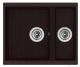 Мойка кухонная Longran Enigma ENG555.460 15 (марон) -