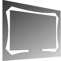 Зеркало Милания Будущее 90x60 -