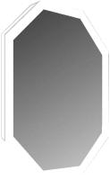 Зеркало Милания Октагон 60x80 -