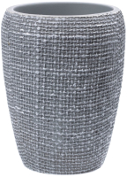 Стакан для зубной щетки и пасты Ridder Tessuto Light Grey 2153107 -