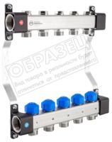 Коллекторная группа отопления KAN-therm InoxFlow серия UVS 3 отвода / 1316160034 -