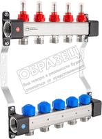 Коллекторная группа отопления KAN-therm InoxFlow серия UFS 8 отводов / 1316157072 -