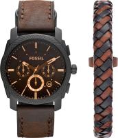 Часы наручные мужские Fossil FS5251SET + браслет -