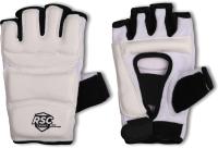 Перчатки для единоборств RSC PU 3650 (M, белый) -