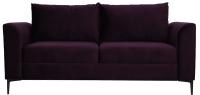 Диван Brioli Марк двухместный (B40/фиолетовый) -