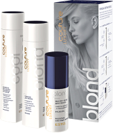 Набор косметики для волос Estel Haute Couture Blond Шампунь 300мл+Бальзам 250мл+Масло 50мл -