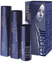 Набор косметики для волос Estel Haute Couture Repair Шампунь 300мл+Бальзам 250мл+Эликсир 50мл -