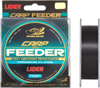 Леска монофильная Fishing Empire Lider Carp Plus Black 0.40мм 300м / BL-040 -