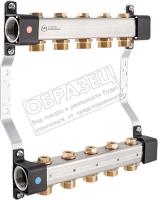 Коллекторная группа отопления KAN-therm InoxFlow серия RVV 6 отводов / 1316161004 -