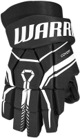 Перчатки хоккейные Warrior QRE40 / Q40GS0-BKV-14 (черный) -