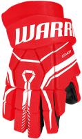 Перчатки хоккейные Warrior QRE40 / Q40GS0-RD-14 (красный) -