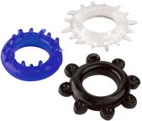 Набор эрекционных колец ToyFa A-toys / 769003  -