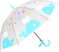 Зонт-трость Михи Михи Кит / MM10460 (голубой) -