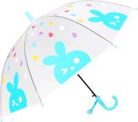 Зонт-трость Михи Михи Зайчик / MM10459 (голубой) -
