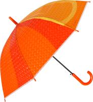 Зонт-трость Михи Михи Апельсин с 3D эффектом / MM10404 (оранжевый) -