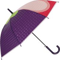 Зонт-трость Михи Михи Мангостин с 3D эффектом / MM10407 (фиолетовый) -