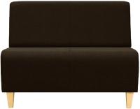 Диван Brioli Руди Д двухместный (J5/коричневый) -
