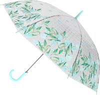 Зонт-трость Михи Михи Цветочки с 3D эффектом / MM10410 (голубой) -