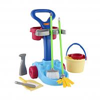 Набор хозяйственный игрушечный Полесье Чистюля / 36575 (в коробке) -