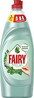 Средство для мытья посуды Fairy Нежные руки. Чайное дерево и мята (650мл) -