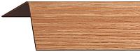 Уголок отделочный Rico Moulding 101 Вишня с тиснением (30x30x2700) -