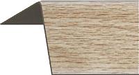 Уголок отделочный Rico Moulding 130 Бук Благородный с тиснением (30x30x2700) -