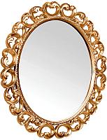 Зеркало интерьерное Мебель-КМК Искушение 1 0459.7 (белый/ золото) -