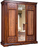 Шкаф Мебель-КМК 3Д Амелия 0435.10 (орех экко) -