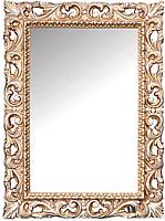 Зеркало Мебель-КМК Багира 2 0465.10 (белый/золото) -