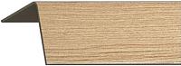 Уголок отделочный Rico Moulding 180 Дуб Античный с тиснением (30x30x2700) -