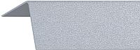 Уголок отделочный Rico Moulding 103 Серый с тиснением (40x40x2700) -