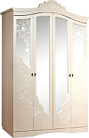 Шкаф Мебель-КМК Жемчужина 0380.1 (венге светлый/ясень жемчужный) -
